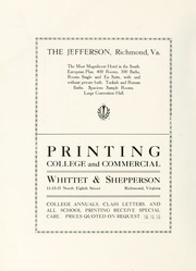 Page 234, 1911 Edition, College of William and Mary - Colonial Echo Yearbook (Williamsburg, VA) online yearbook collection