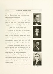 Page 43, 1911 Edition, College of William and Mary - Colonial Echo Yearbook (Williamsburg, VA) online yearbook collection