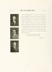 Page 44, 1911 Edition, College of William and Mary - Colonial Echo Yearbook (Williamsburg, VA) online yearbook collection