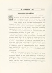 Page 48, 1911 Edition, College of William and Mary - Colonial Echo Yearbook (Williamsburg, VA) online yearbook collection