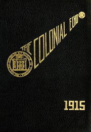Page 1, 1915 Edition, College of William and Mary - Colonial Echo Yearbook (Williamsburg, VA) online yearbook collection
