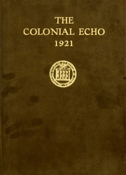 Page 1, 1921 Edition, College of William and Mary - Colonial Echo Yearbook (Williamsburg, VA) online yearbook collection