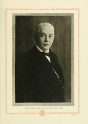 Page 11, 1921 Edition, College of William and Mary - Colonial Echo Yearbook (Williamsburg, VA) online yearbook collection
