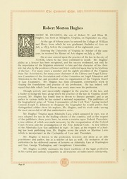 Page 12, 1921 Edition, College of William and Mary - Colonial Echo Yearbook (Williamsburg, VA) online yearbook collection