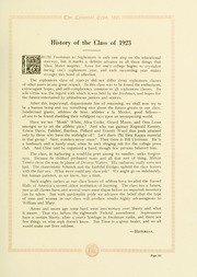Page 121, 1921 Edition, College of William and Mary - Colonial Echo Yearbook (Williamsburg, VA) online yearbook collection