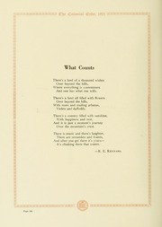 Page 124, 1921 Edition, College of William and Mary - Colonial Echo Yearbook (Williamsburg, VA) online yearbook collection