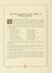 Page 132, 1921 Edition, College of William and Mary - Colonial Echo Yearbook (Williamsburg, VA) online yearbook collection