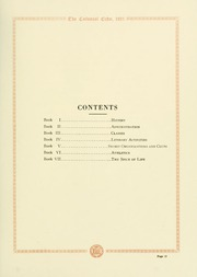 Page 17, 1921 Edition, College of William and Mary - Colonial Echo Yearbook (Williamsburg, VA) online yearbook collection