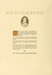 Page 14, 1926 Edition, College of William and Mary - Colonial Echo Yearbook (Williamsburg, VA) online yearbook collection