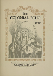 Page 7, 1930 Edition, College of William and Mary - Colonial Echo Yearbook (Williamsburg, VA) online yearbook collection