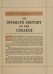 Page 13, 1933 Edition, College of William and Mary - Colonial Echo Yearbook (Williamsburg, VA) online yearbook collection