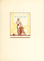 Page 7, 1934 Edition, College of William and Mary - Colonial Echo Yearbook (Williamsburg, VA) online yearbook collection