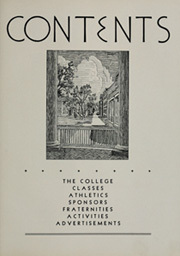 Page 11, 1935 Edition, College of William and Mary - Colonial Echo Yearbook (Williamsburg, VA) online yearbook collection