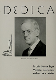 Page 12, 1935 Edition, College of William and Mary - Colonial Echo Yearbook (Williamsburg, VA) online yearbook collection