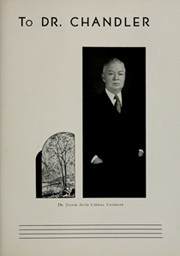 Page 15, 1935 Edition, College of William and Mary - Colonial Echo Yearbook (Williamsburg, VA) online yearbook collection