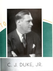 Page 9, 1938 Edition, College of William and Mary - Colonial Echo Yearbook (Williamsburg, VA) online yearbook collection