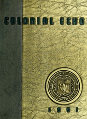 1951 Edition, College of William and Mary - Colonial Echo Yearbook (Williamsburg, VA)