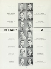 Page 16, 1951 Edition, College of William and Mary - Colonial Echo Yearbook (Williamsburg, VA) online yearbook collection
