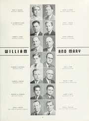 Page 17, 1951 Edition, College of William and Mary - Colonial Echo Yearbook (Williamsburg, VA) online yearbook collection