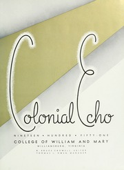 Page 7, 1951 Edition, College of William and Mary - Colonial Echo Yearbook (Williamsburg, VA) online yearbook collection