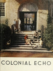 1953 Edition, College of William and Mary - Colonial Echo Yearbook (Williamsburg, VA)