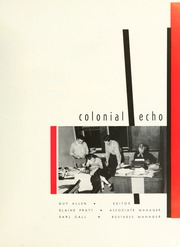 Page 5, 1956 Edition, College of William and Mary - Colonial Echo Yearbook (Williamsburg, VA) online yearbook collection