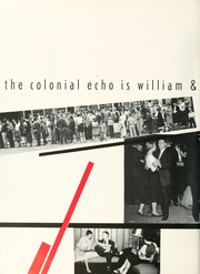 Page 6, 1956 Edition, College of William and Mary - Colonial Echo Yearbook (Williamsburg, VA) online yearbook collection
