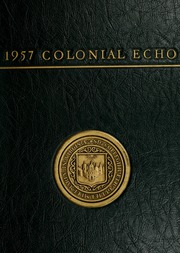 1957 Edition, College of William and Mary - Colonial Echo Yearbook (Williamsburg, VA)