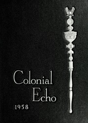 1958 Edition, College of William and Mary - Colonial Echo Yearbook (Williamsburg, VA)