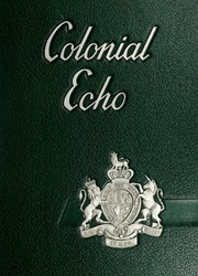 1959 Edition, College of William and Mary - Colonial Echo Yearbook (Williamsburg, VA)