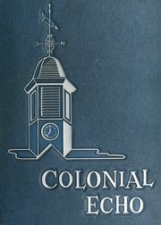 1960 Edition, College of William and Mary - Colonial Echo Yearbook (Williamsburg, VA)