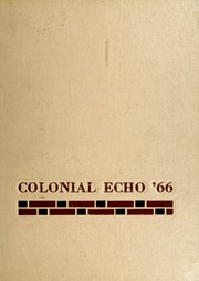 1966 Edition, College of William and Mary - Colonial Echo Yearbook (Williamsburg, VA)