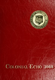 1968 Edition, College of William and Mary - Colonial Echo Yearbook (Williamsburg, VA)