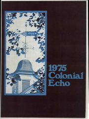 Page 1, 1975 Edition, College of William and Mary - Colonial Echo Yearbook (Williamsburg, VA) online yearbook collection