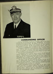 Page 10, 1963 Edition, Wedderburn (DD 684) - Naval Cruise Book online yearbook collection