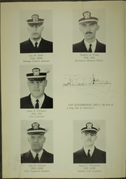 Page 14, 1963 Edition, Wedderburn (DD 684) - Naval Cruise Book online yearbook collection