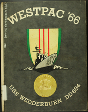 Page 1, 1966 Edition, Wedderburn (DD 684) - Naval Cruise Book online yearbook collection
