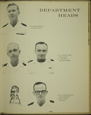 Page 11, 1966 Edition, Wedderburn (DD 684) - Naval Cruise Book online yearbook collection