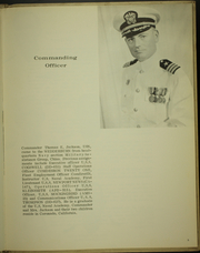 Page 9, 1966 Edition, Wedderburn (DD 684) - Naval Cruise Book online yearbook collection