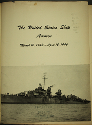 Page 5, 1946 Edition, Ammen (DD 35) - Naval Cruise Book online yearbook collection