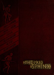 The Citadel - Sphinx Yearbook (Charleston, SC) online yearbook collection, 1933 Edition, Page 1