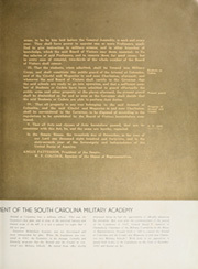 Page 15, 1937 Edition, The Citadel - Sphinx Yearbook (Charleston, SC) online yearbook collection