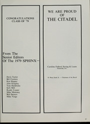 Page 371, 1979 Edition, The Citadel - Sphinx Yearbook (Charleston, SC) online yearbook collection