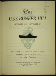 Page 9, 1945 Edition, Bunker Hill (CV 17) - Naval Cruise Book online yearbook collection