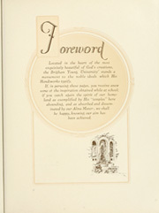 Page 11, 1927 Edition, Brigham Young University - Banyan Yearbook (Provo, UT) online yearbook collection