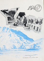 Page 7, 1940 Edition, Brigham Young University - Banyan Yearbook (Provo, UT) online yearbook collection