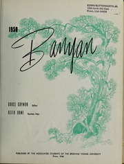 Page 5, 1950 Edition, Brigham Young University - Banyan Yearbook (Provo, UT) online yearbook collection