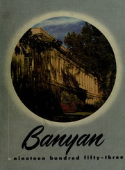 Page 1, 1953 Edition, Brigham Young University - Banyan Yearbook (Provo, UT) online yearbook collection