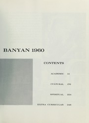 Page 5, 1960 Edition, Brigham Young University - Banyan Yearbook (Provo, UT) online yearbook collection