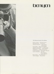 Page 7, 1972 Edition, Brigham Young University - Banyan Yearbook (Provo, UT) online yearbook collection